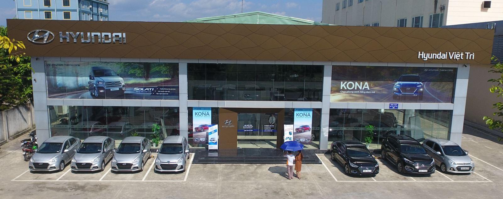 Mặt Tiền Hyundai 3S Việt Trì